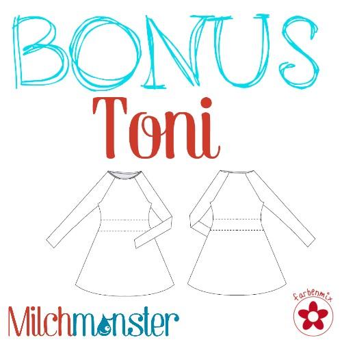 Raglankleid Toni FM Schnittmuster - Zwergenstoffe, 13.00 CHF