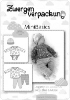 MiniBasics: Body, Shirt, Leggings, Mütze, Papierschnittmuster