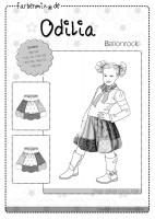 ODILIA, Papierschnittmuster