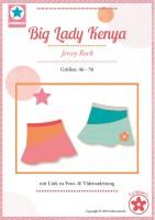 Big Lady Kenya, Rock, Papierschnittmuster