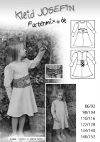 JOSEFIN, Kleid, Papierschnittmuster