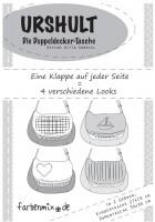 URSHULT- Doppeldecker Tasche, Papierschnittmuster