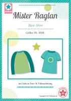 Mister Raglan, Papierschnittmuster