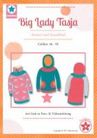 Big Lady Tasja, Hoodie und Kleid, Papierschnittmuster