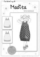 MADITA, Trägerkleid, Papierschnittmuster