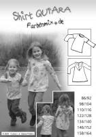 QUIARA, Basic-Shirtschnitt, Papierschnittmuster