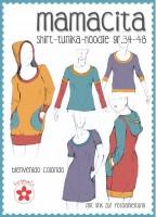 Mamacita, Tunika-Shirt, Papierschnittmuster
