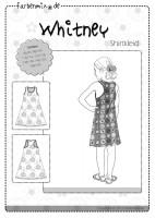 WHITNEY, Jerseykleid, Papierschnittmuster