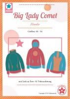 Big Lady Comet, Hoodie, Papierschnittmuster
