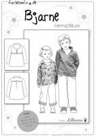 BJARNE, Hemd, Papierschnittmuster