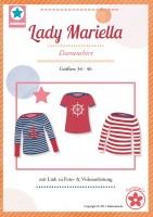 Lady Mariella, U-Boot-Shirt, Papierschnittmuster