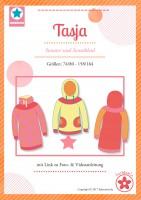 Tasja, Hoodie und Sweatkleid, Papierschnittmuster