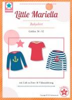 little Mariella, Babyshirt, Papierschnittmuster