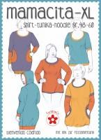 Mamacita XL , Tunika-Shirt, Papierschnittmuster
