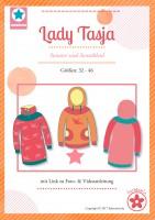 Lady Tasja, Hoodie und Kleid, Papierschnittmuster