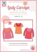 Lady Carolyn, Papierschnittmuster