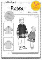 RABEA, Papierschnittmuster, farbenmix StarSchnittPattern