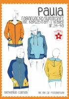 Paula, Raglanjacke/Sweatshirt, Papierschnittmuster