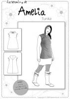 AmeliA, Damen-Tunika, Papierschnittmuster